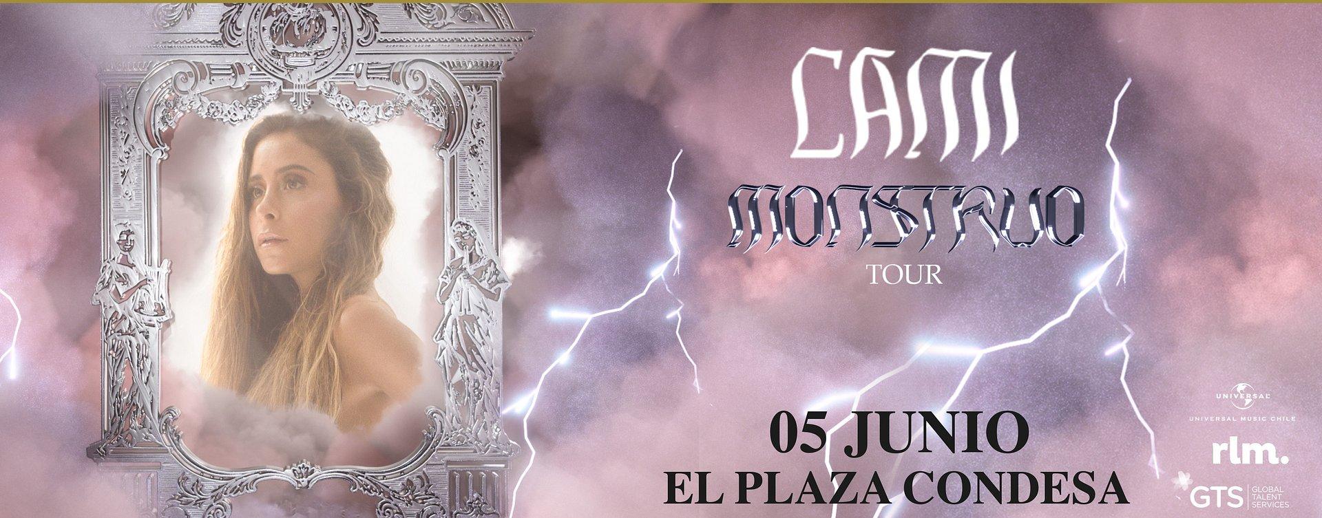 """Cami llegará a El Plaza Condesa con """"Monstruo Tour"""""""