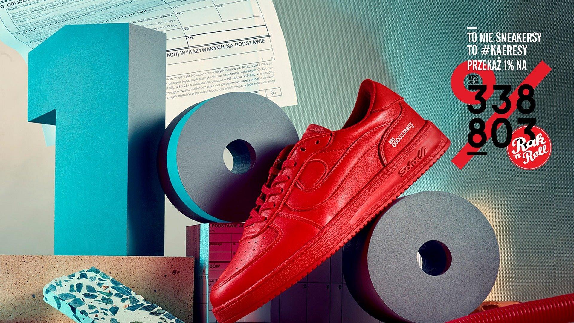 To nie sneakersy, to KAERESY - kolabo Sofix i Rak'n'Roll