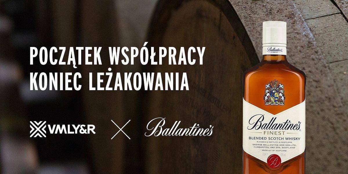 Agencja VMLY&R Poland została partnerem marki Ballantine's