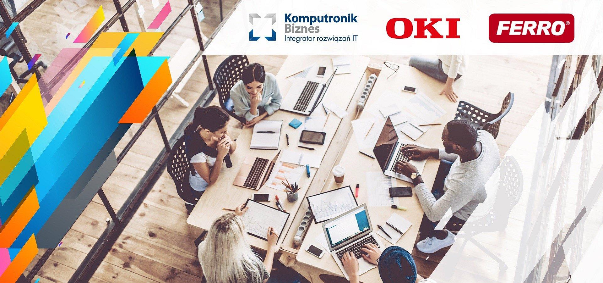Komputronik Biznes z rozwiązaniami OKI dla marki Ferro