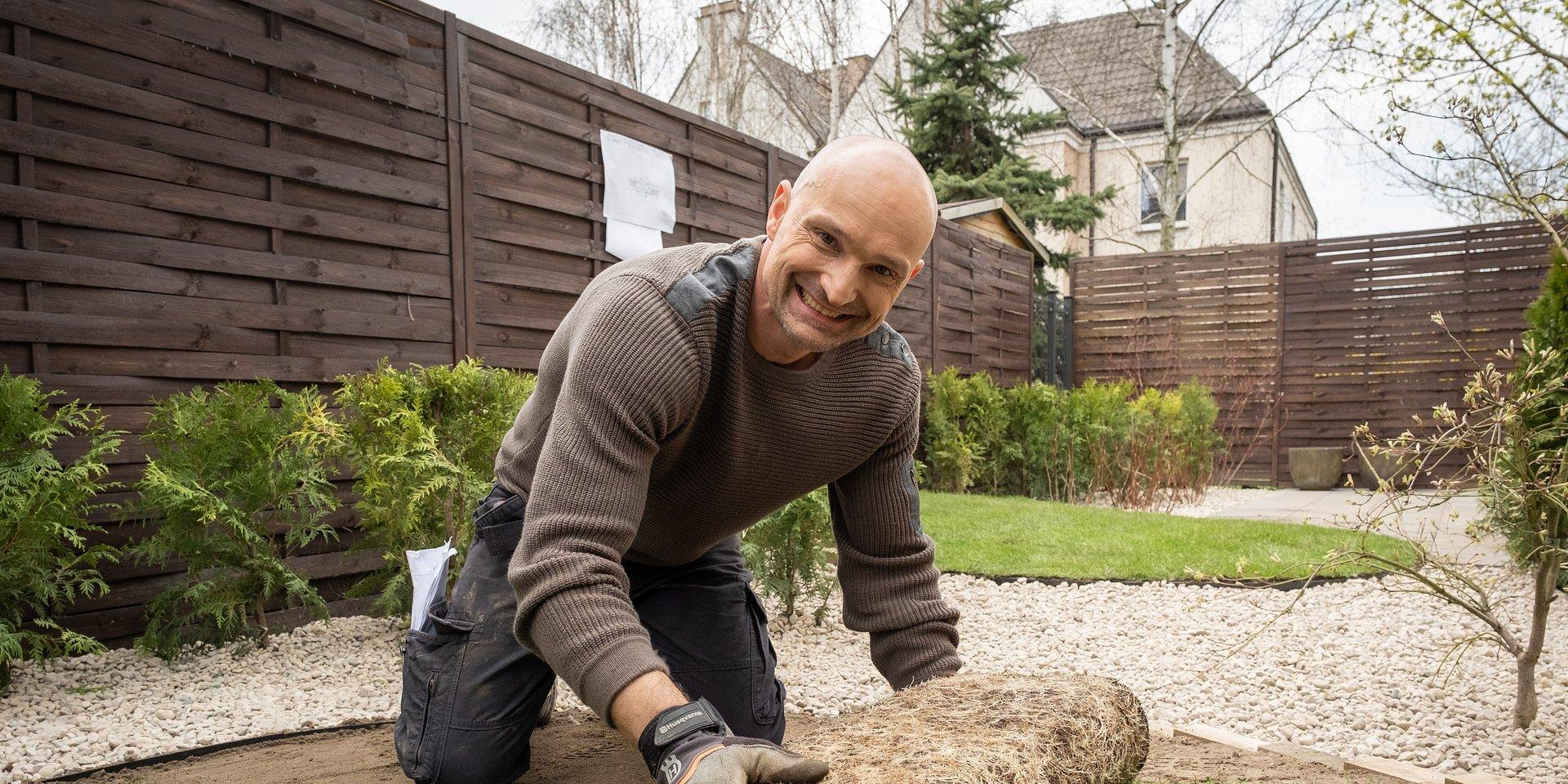 """Dominik Strzelec i """"Polowanie na ogród"""" w HGTV!"""