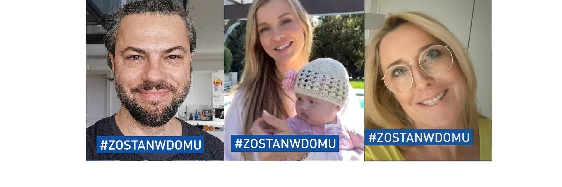 TVN wspiera akcję #ZOSTANWDOMU, gwiazdy apelują do widzów