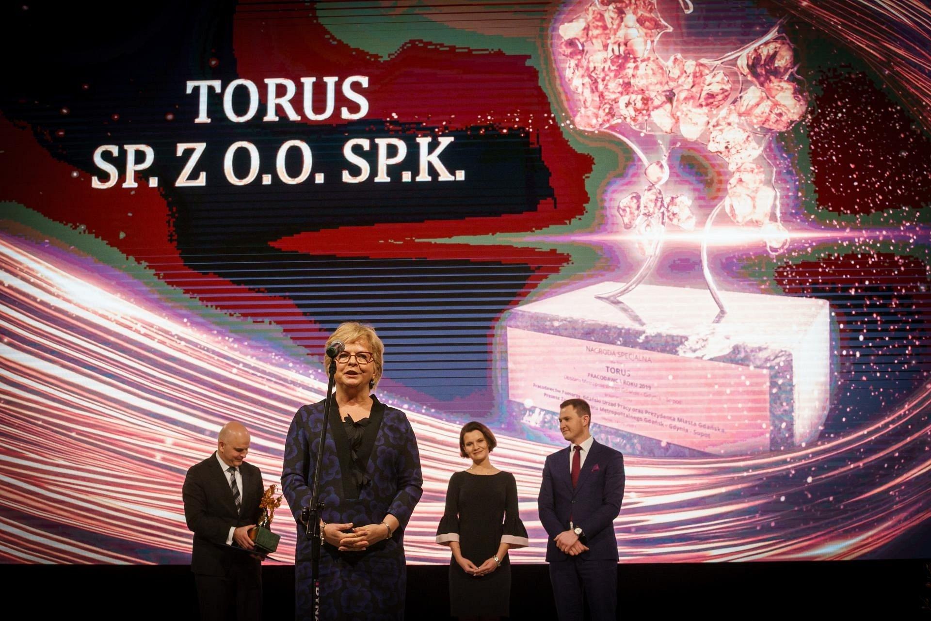 Torus receives Employer of the Year award