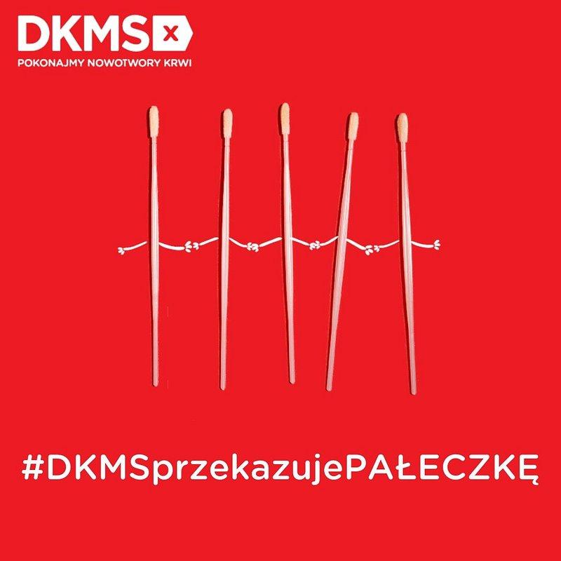 Fundacja DKMS przekazała 110 000 pałeczek do diagnostyki koronawirusa!#DKMSprzekazujePałeczkę