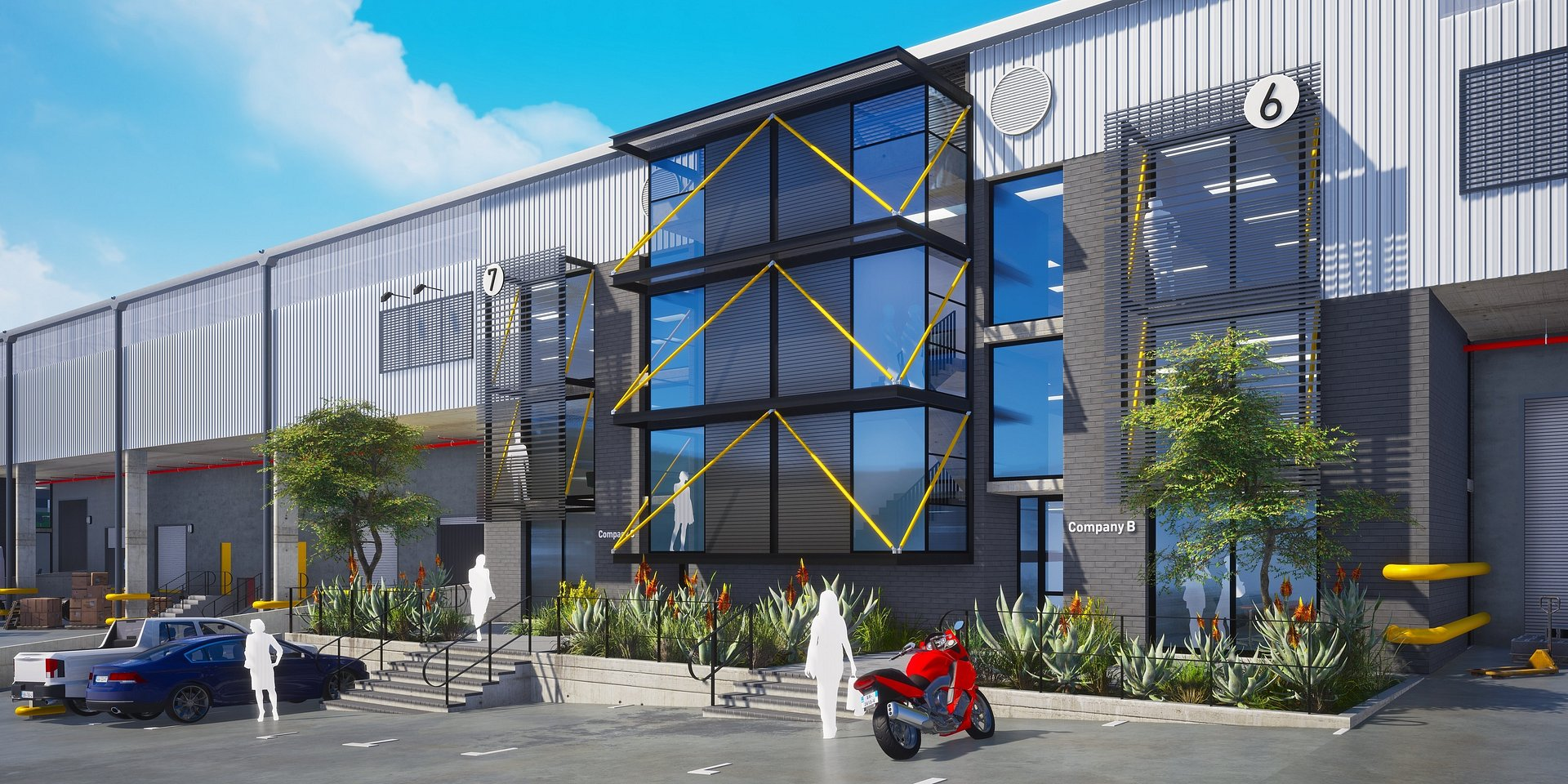Growthpoint completes the R320m Millroad Industrial Park