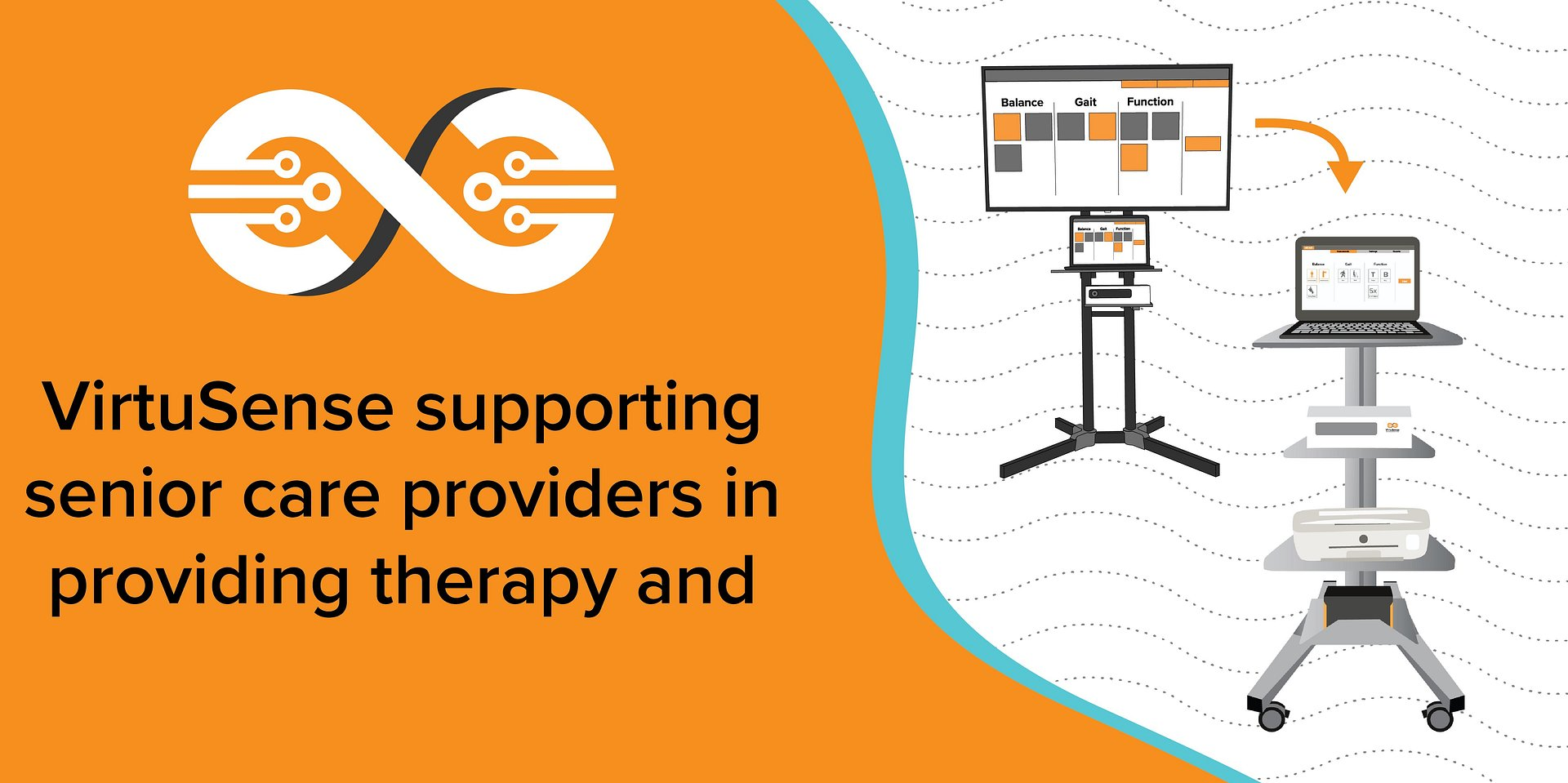 VirtuSense supporting senior care providers in providing therapy and wellness during COVID-19 pandemic