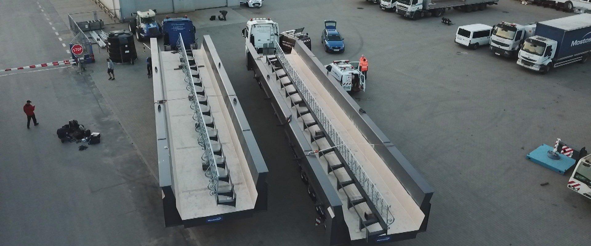 """""""Megatransporty"""", czyli przygody z transportem ponadgabarytowym!"""