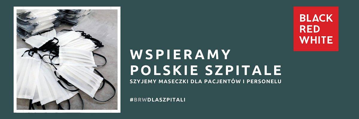 Wspieramy polskie szpitale! Szyjemy maseczki ochronne dla pacjentów i personelu.