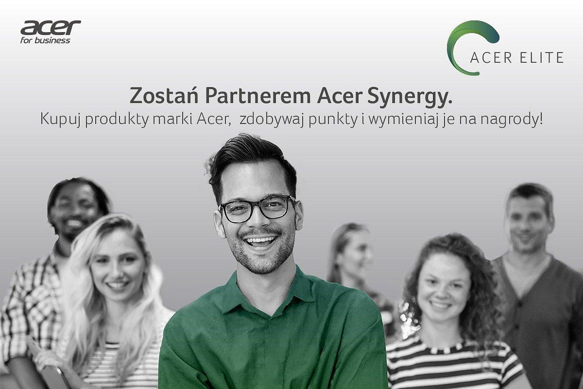 Acer Elite. Dodatkowe korzyści dla Partnerów Acer Synergy