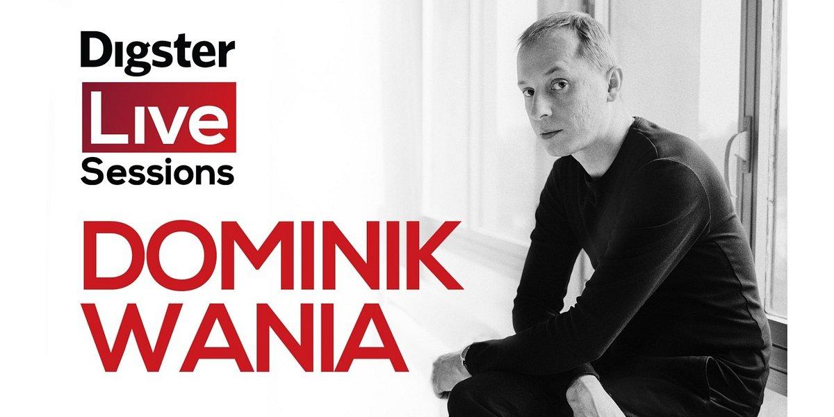 Dominik Wania – koncert na żywo na kanale Digster Polska na YouTube