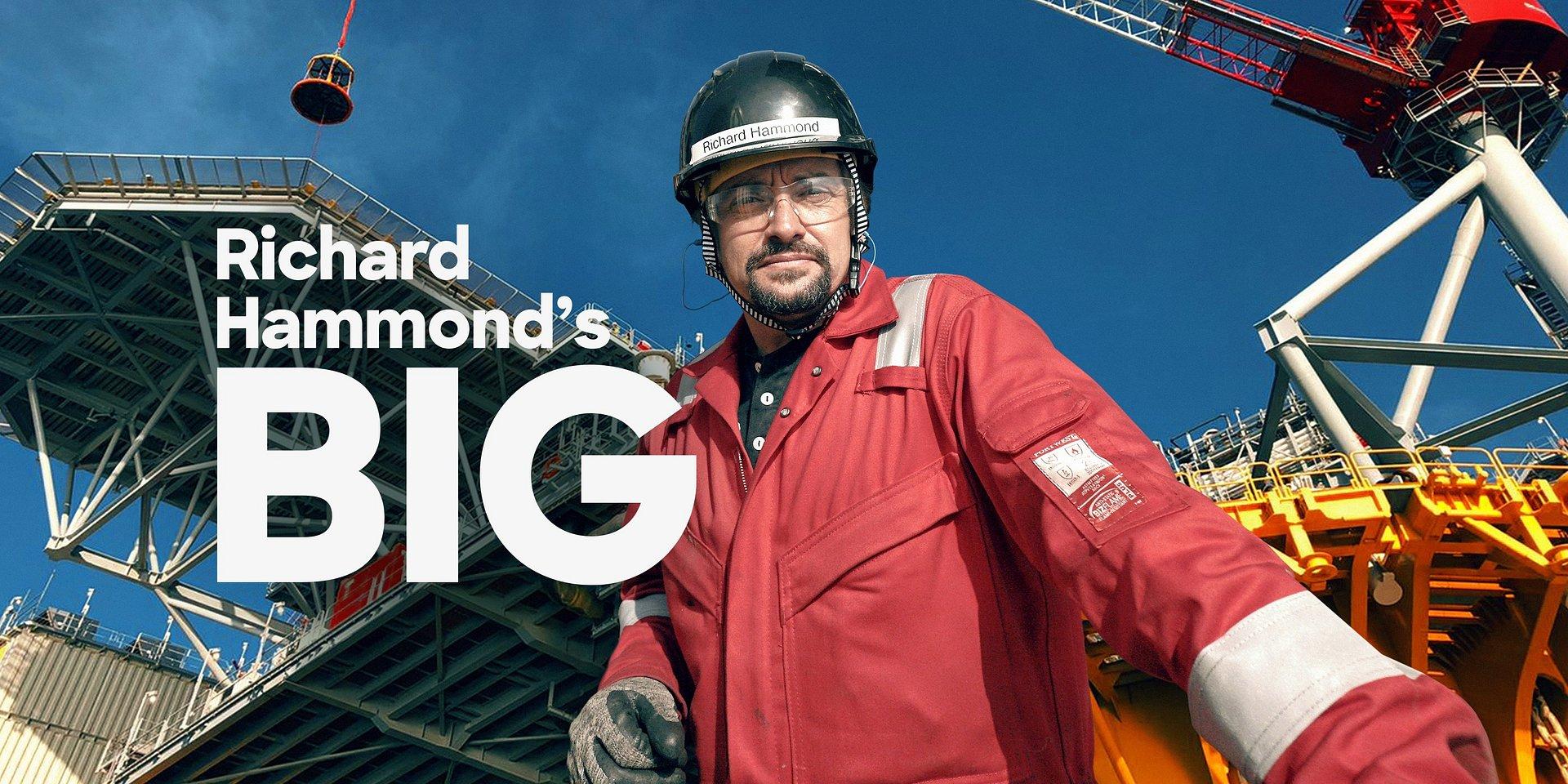 Gigantyczne konstrukcje według Hammonda - platforma wiertnicza w Zatoce Meksykańskiej