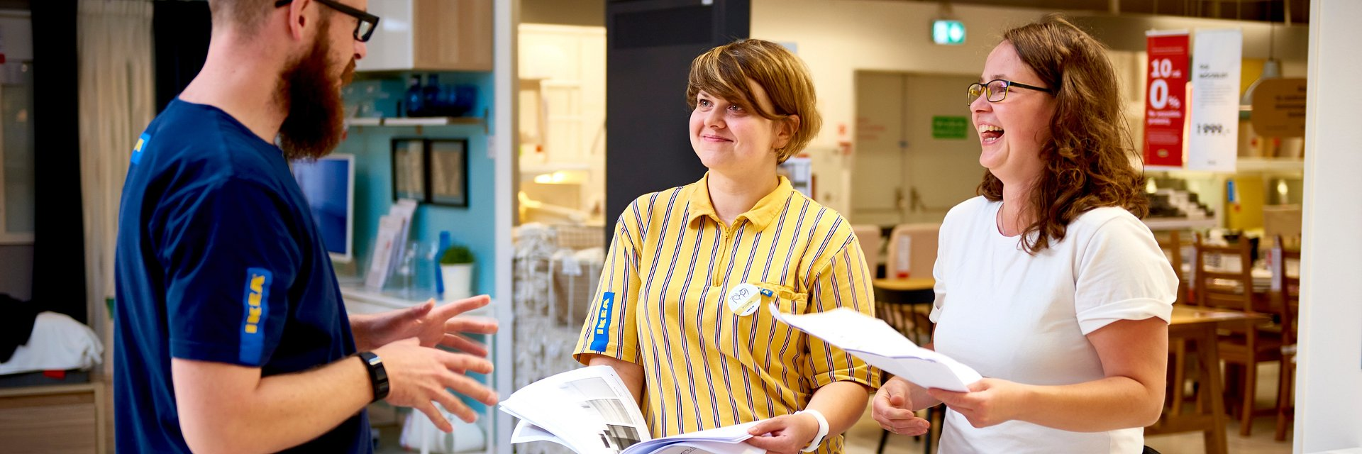 IKEA wspiera i dba o swoich pracowników