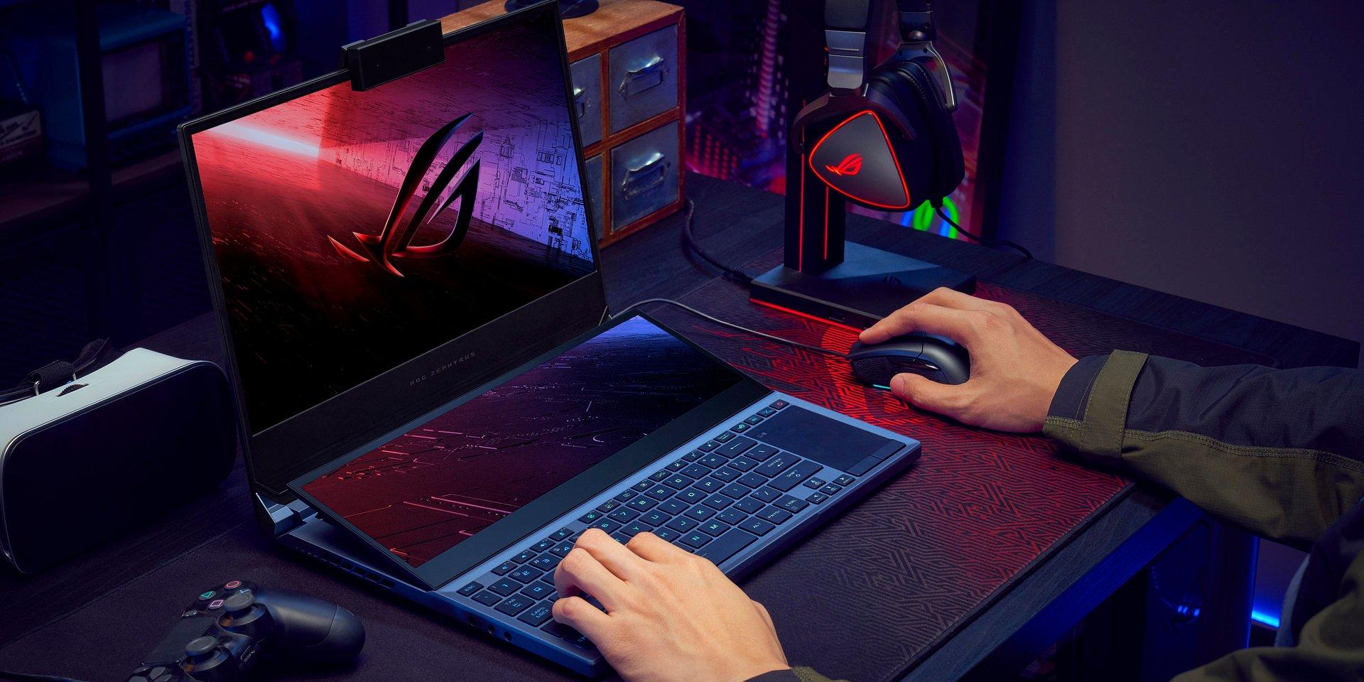 ASUS Republic of Gamers przedstawia dwuekranowy laptop Zephyrus Duo 15