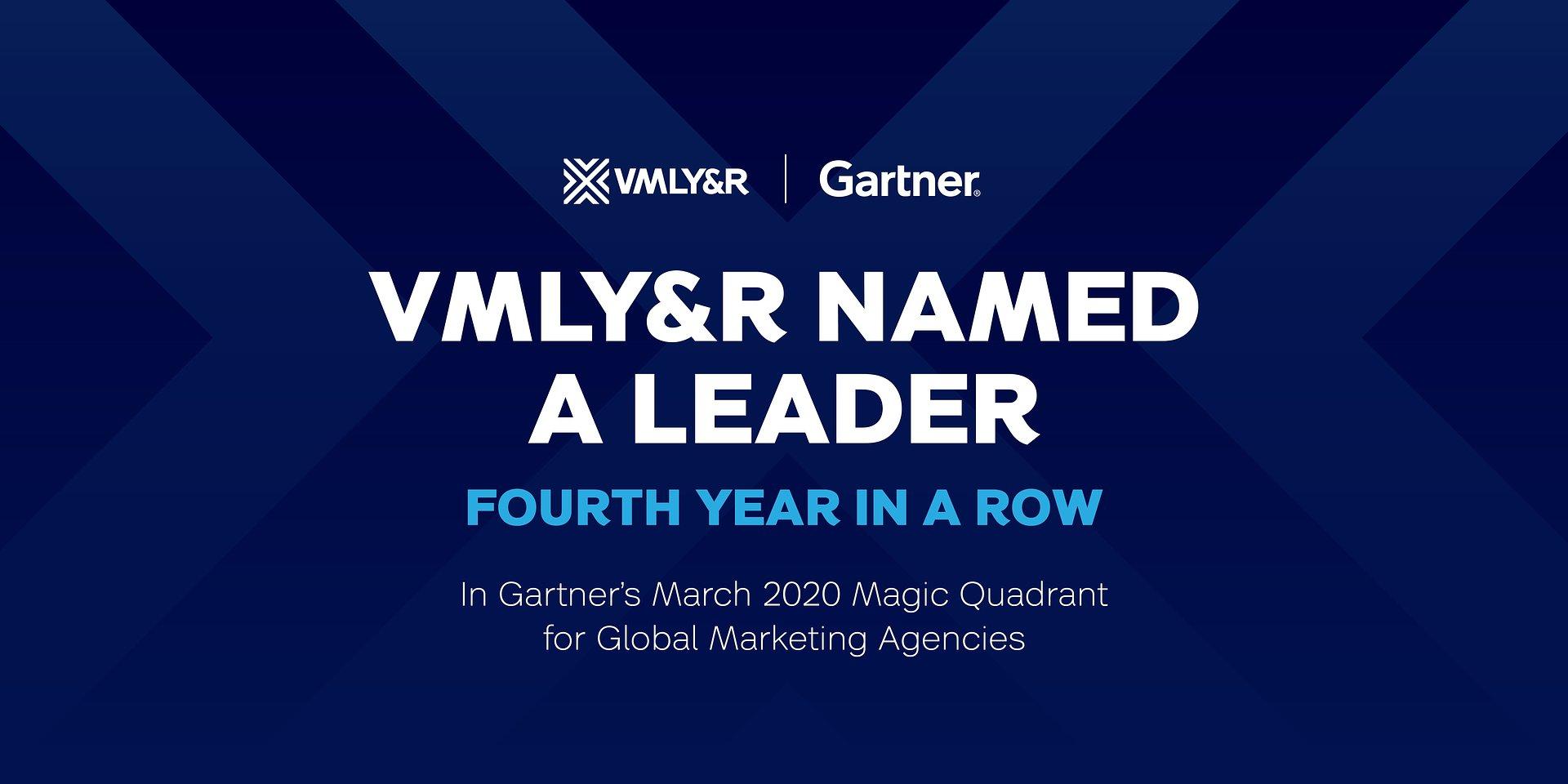 VMLY&R wśród Liderów w badaniu ośrodka Gartner - czwarty rok z rzędu