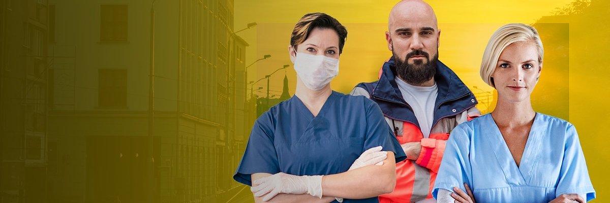 Wspieramy pracowników służby zdrowia zaangażowanych w walkę z koronawirusem