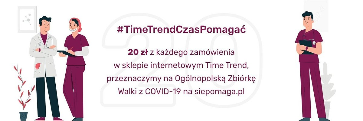 #TimeTrendCzasPomagać – TIME TREND WSPIERA WALKĘ Z KORONAWIRUSEM