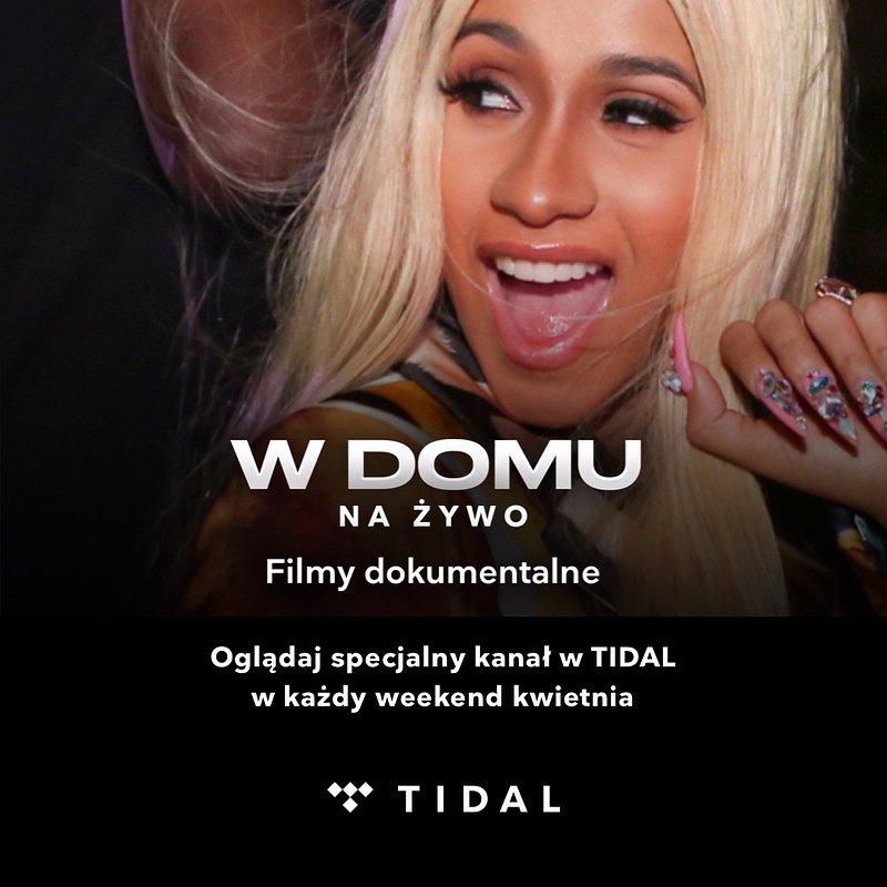 TIDAL kontynuuje dostępną dla wszystkich serię W DOMU Z TIDAL!