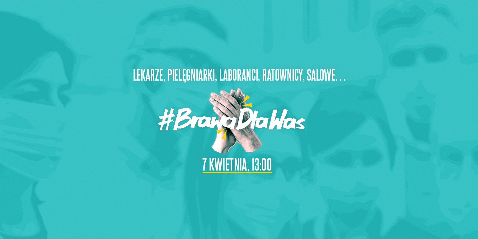 #BrawaDlaWas - wspólna akcja mediów