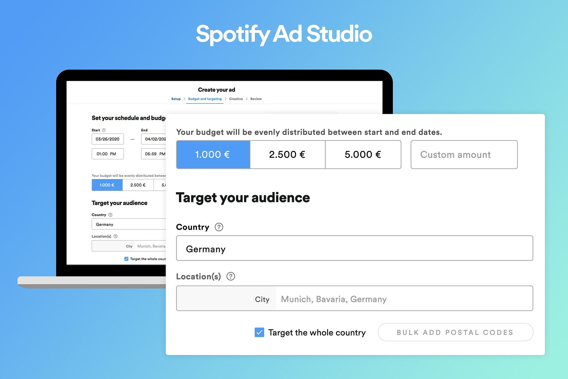 Audio-Marketing: Spotify Ad Studio startet in Deutschland