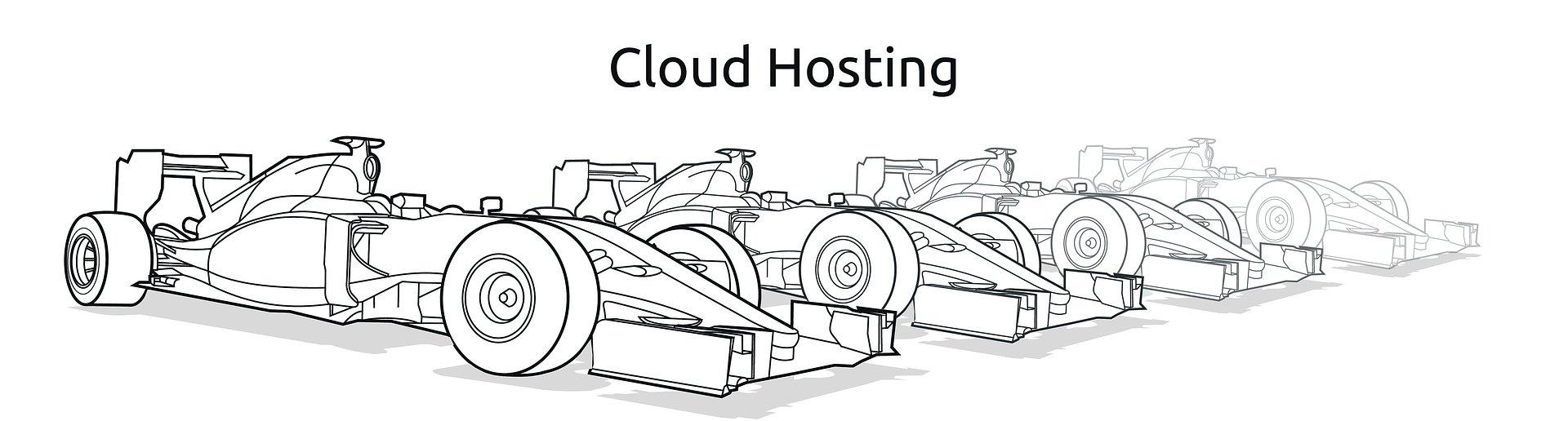 Cloud Hosting w nazwa.pl, czyli flota nowoczesnych wyścigówek