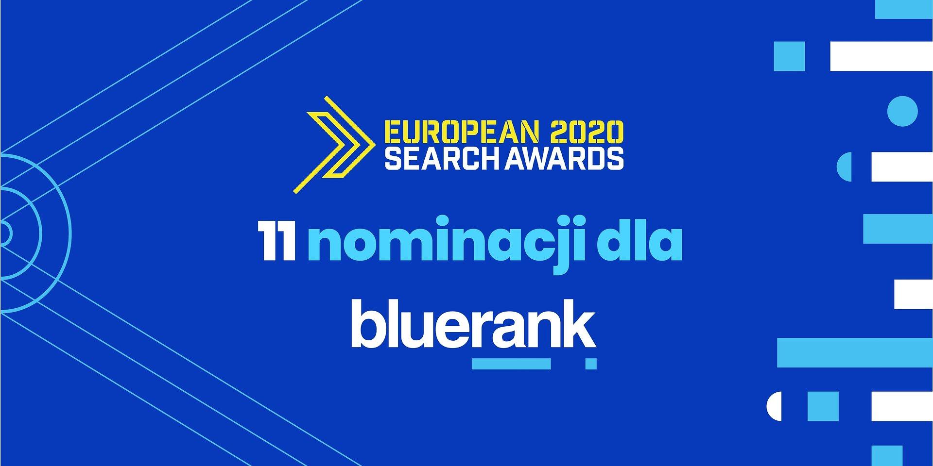 11 nominacji ESA dla Bluerank!