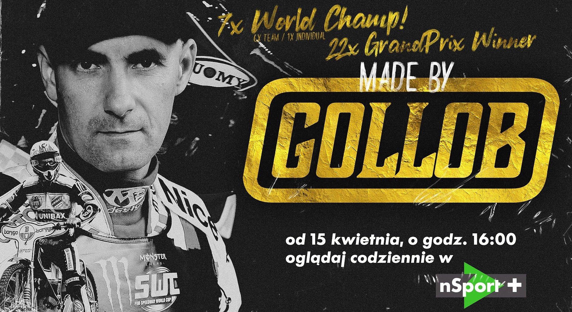 Made by Gollob. Nowy cykl od 15 kwietnia w nSport+