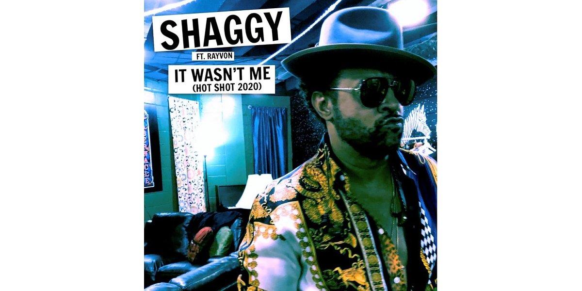 """Shaggy odświeża swój wielki hit """"It Wasn't Me"""""""
