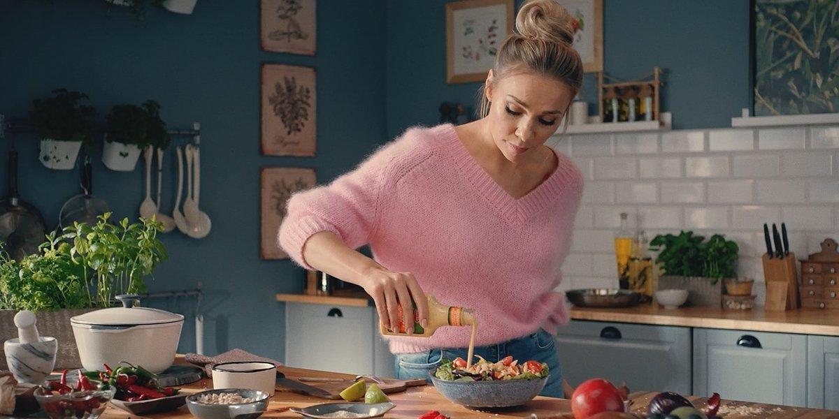 Sonia Bohosiewicz w reklamie marki Roleski