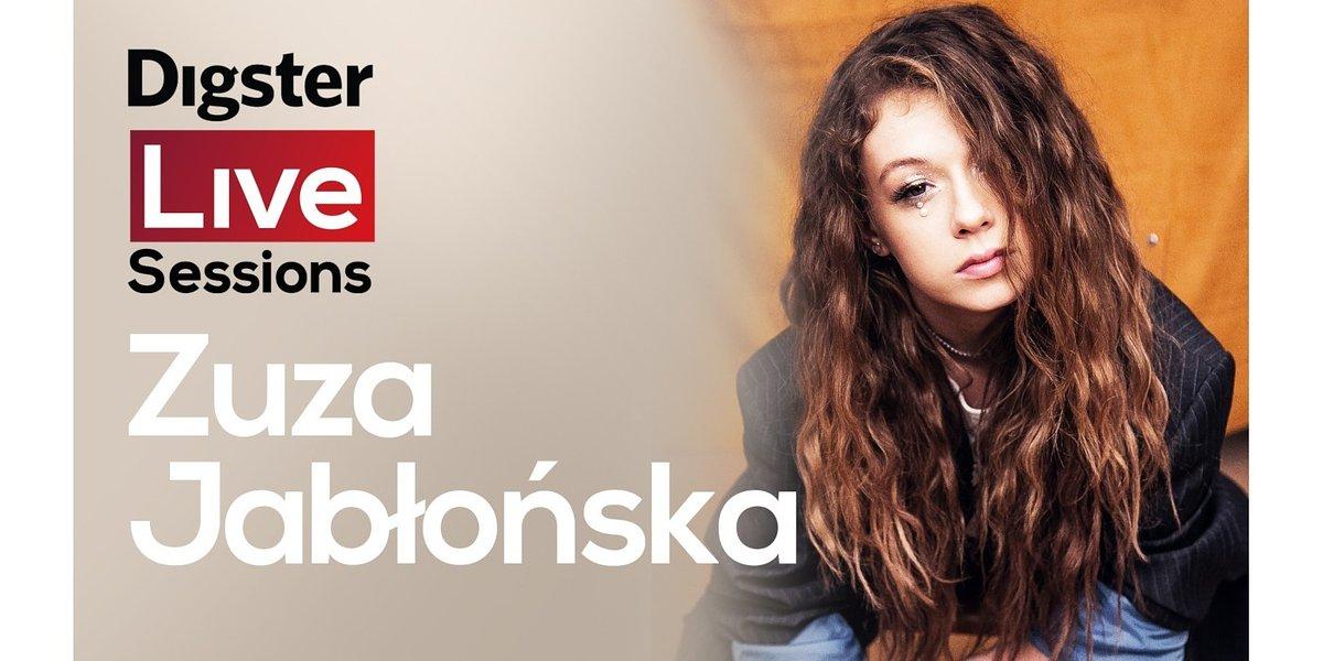 Zuza Jabłońska w ramach Digster Live Sessions