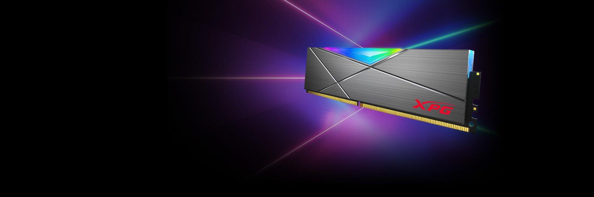 SPECTRIX D50 DDR4 RGB - najwydajniejsze moduły RAM dla PC od XPG