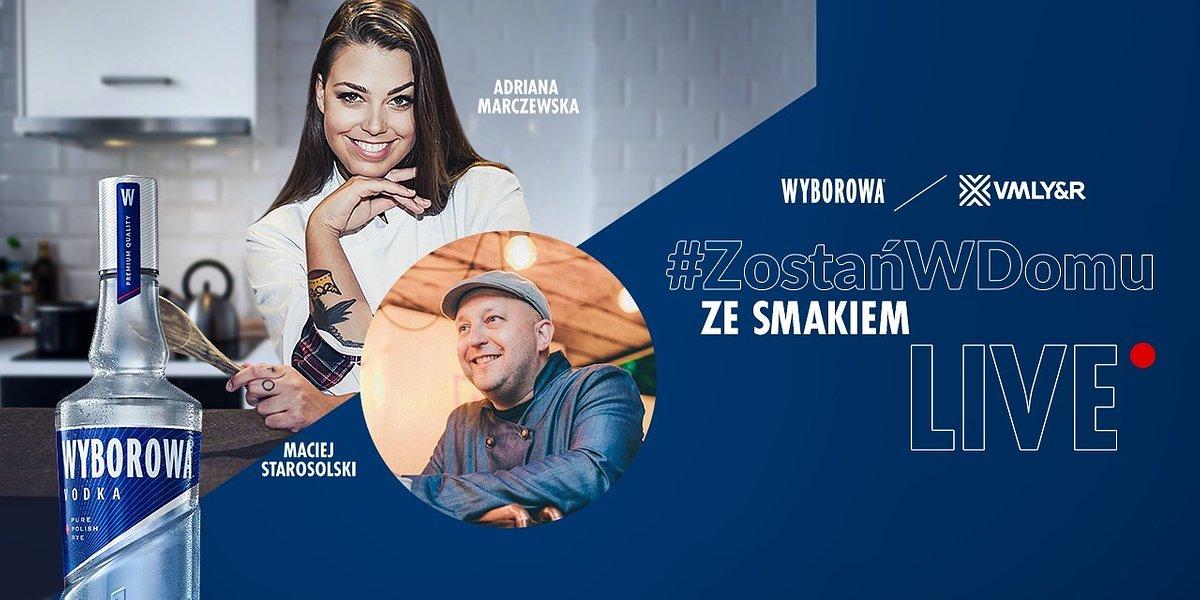 #ZostańWDomu i spotkajmy się przy filmie. Wyborowa zachęca do pozostania w domu i rozdaje kody dostępu do CDA.pl