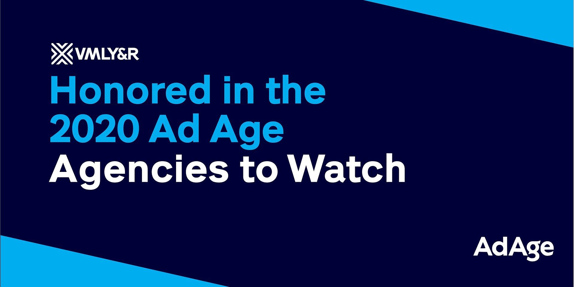 """VMLY&R wśród najlepszych agencji reklamowych świata według """"Ad Age"""" 2020 A-List"""
