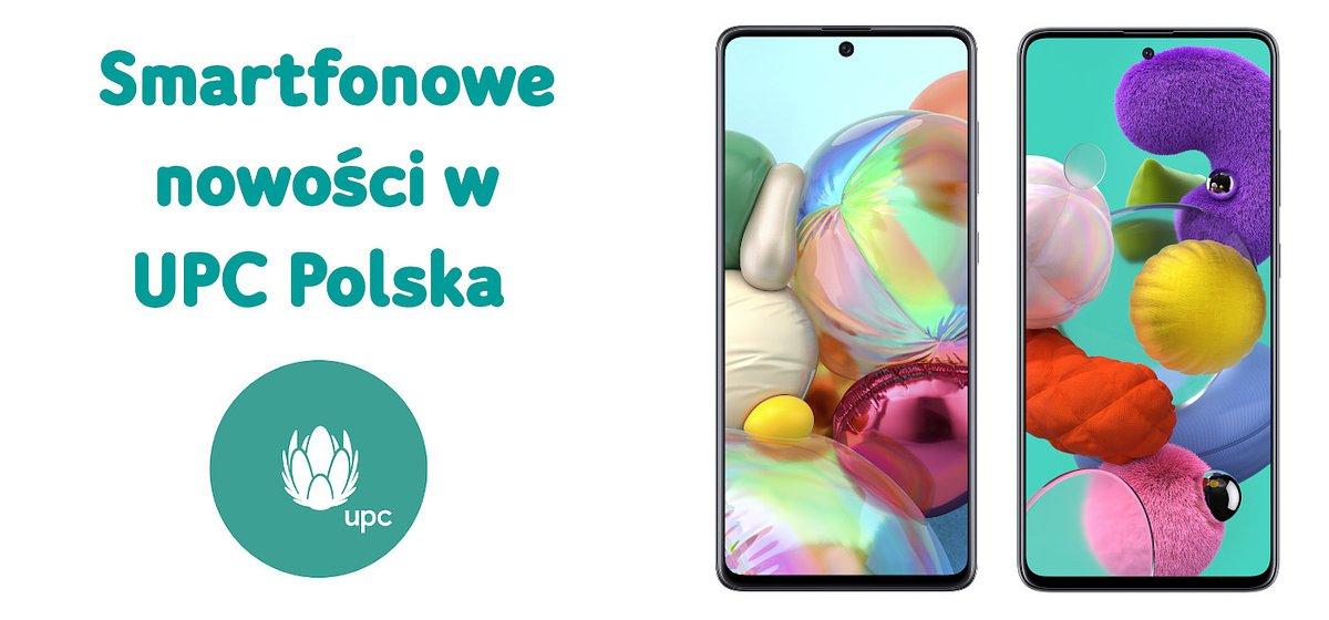 Smartfonowe nowości w ofercie komórkowej UPC Polska