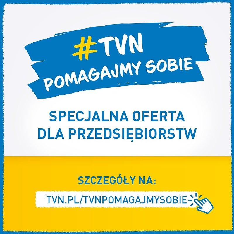 """Akcja specjalna """"TVN Pomagajmy sobie"""": czas reklamowy o wartości 6 milionów dla małych firm!"""
