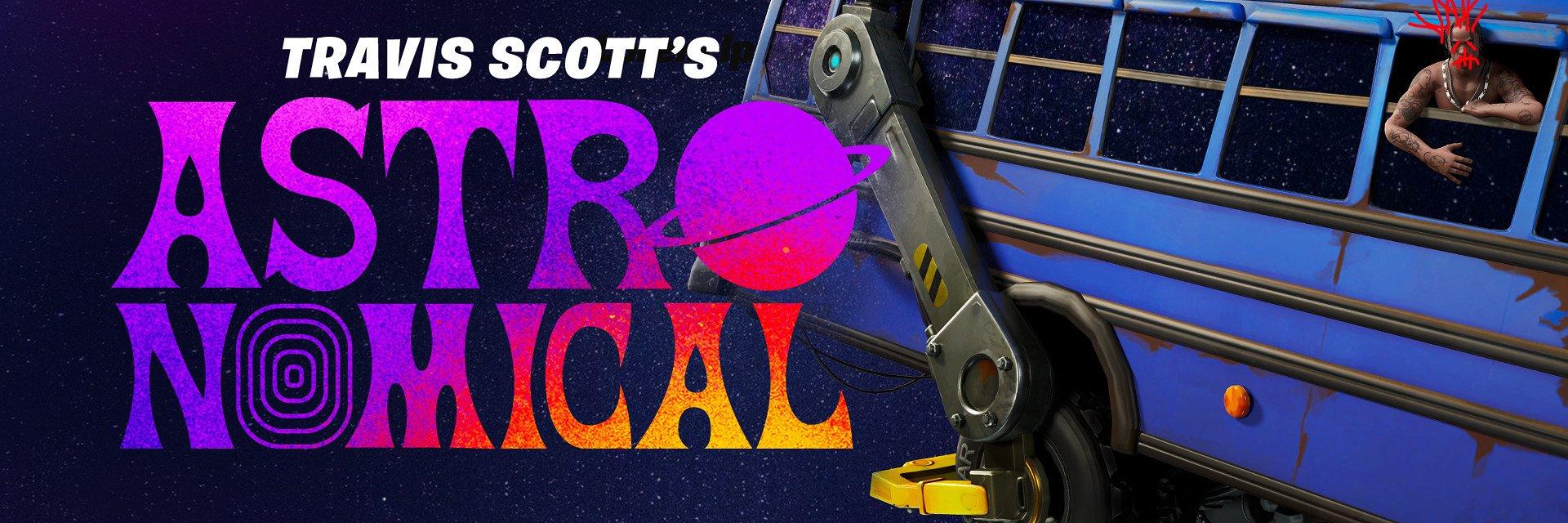 Fortnite i Travis Scott prezentują: ASTRONOMICAL