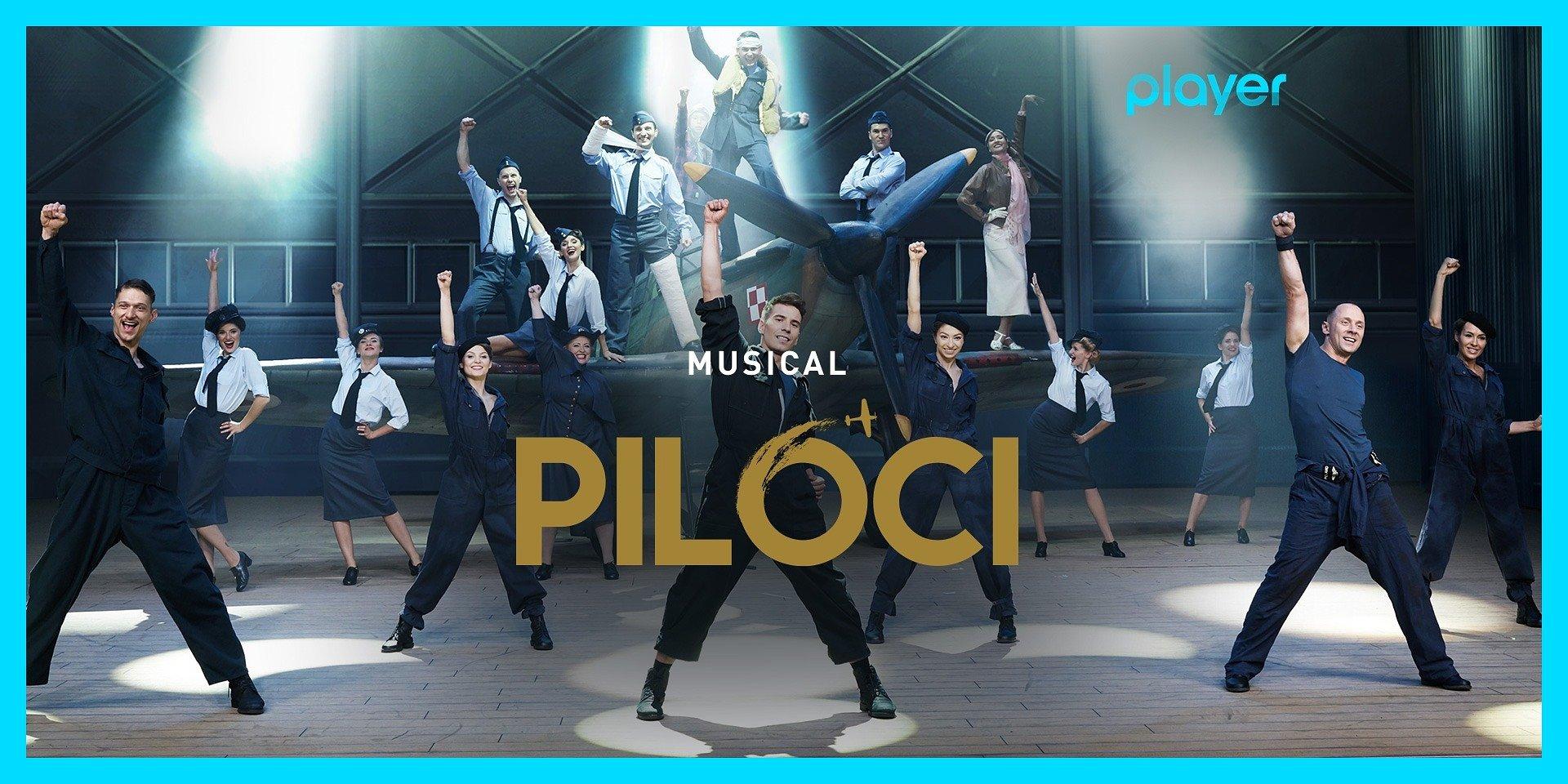 """Spektakl """"Piloci"""" od 24 kwietnia tylko w Playerze!"""