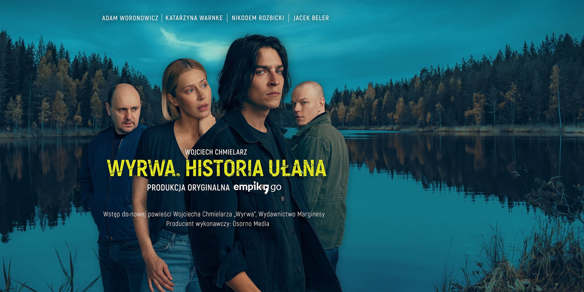 """Każda historia ma swój początek. Pierwsze słuchowisko towarzyszące premierze książki. """"Wyrwa. Historia Ułana"""" w Empik Go!"""