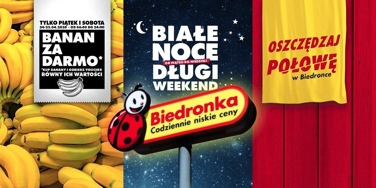 Długi weekend tydzień wcześniej tylko w Biedronce