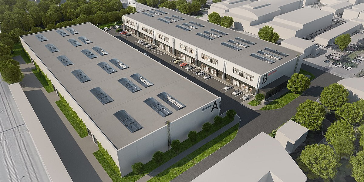 Smaller urban warehouses are expanding in Prague