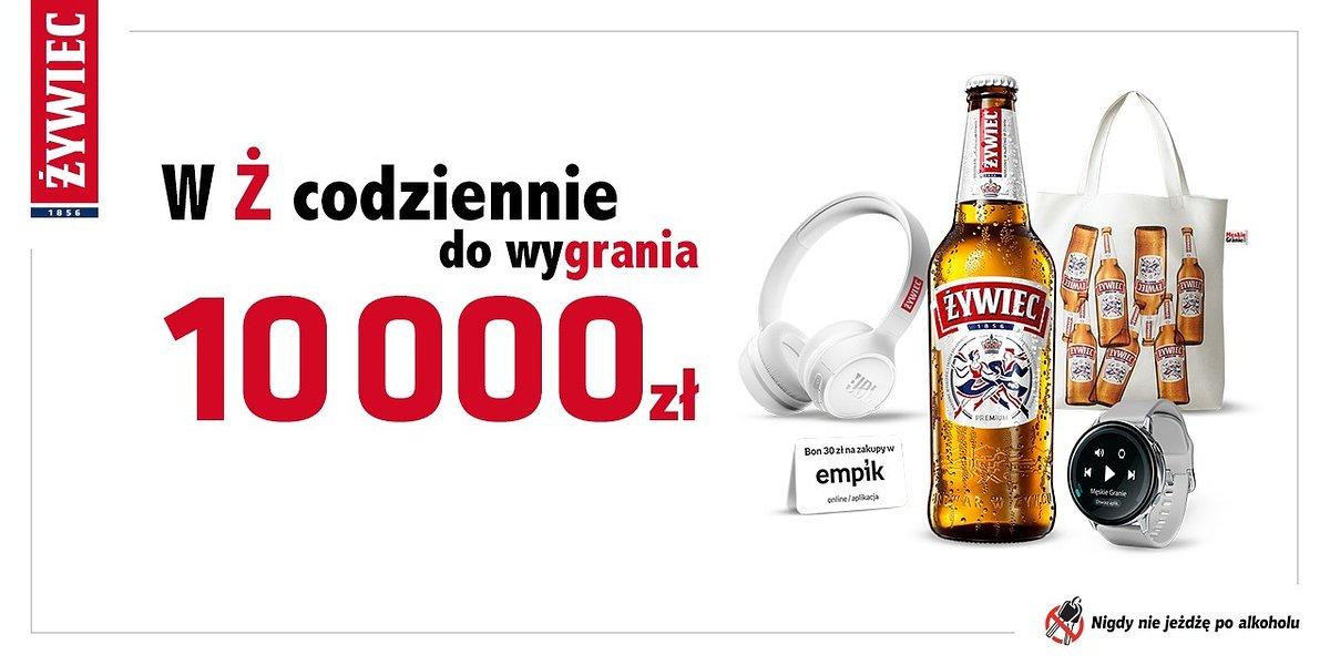 """""""W Ż codziennie do wygrania"""" – rusza nowa loteria Żywca, w której do wygrania jest ponad 177 tys. nagród"""