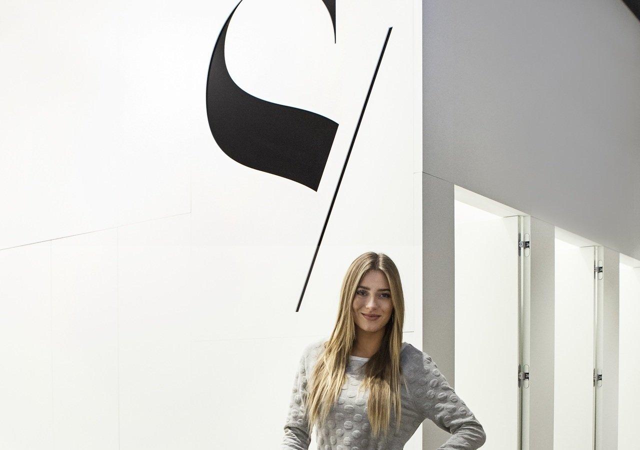 Marcelina Zawadzka odwiedziła nowy butik SOLAR w Posnanii