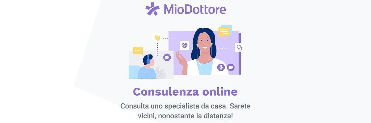 """Al via il progetto """"consulenza online"""" di MioDottore"""