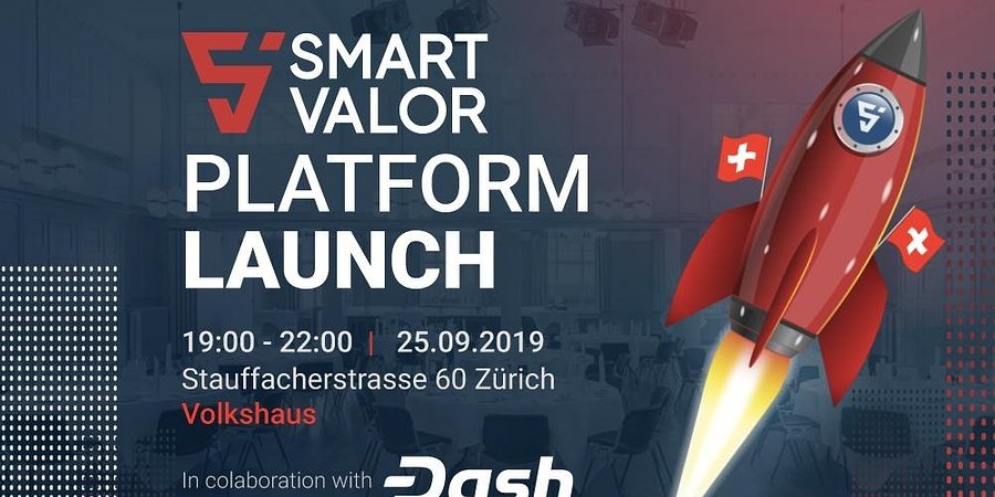 SMART VALOR Lists Dash To Offers 10% Cash Back