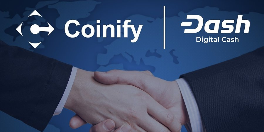Dash Integrates With Coinify, Available At Over Tens of Thousands New Merchants