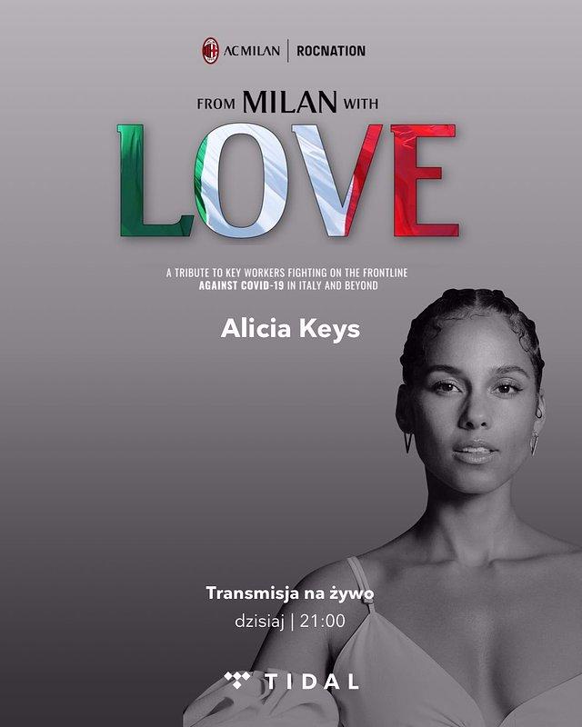 """Transmisja na żywo wyjątkowego wydarzenia """"From Milan with Love"""" dostępna dla wszystkich w TIDAL!"""