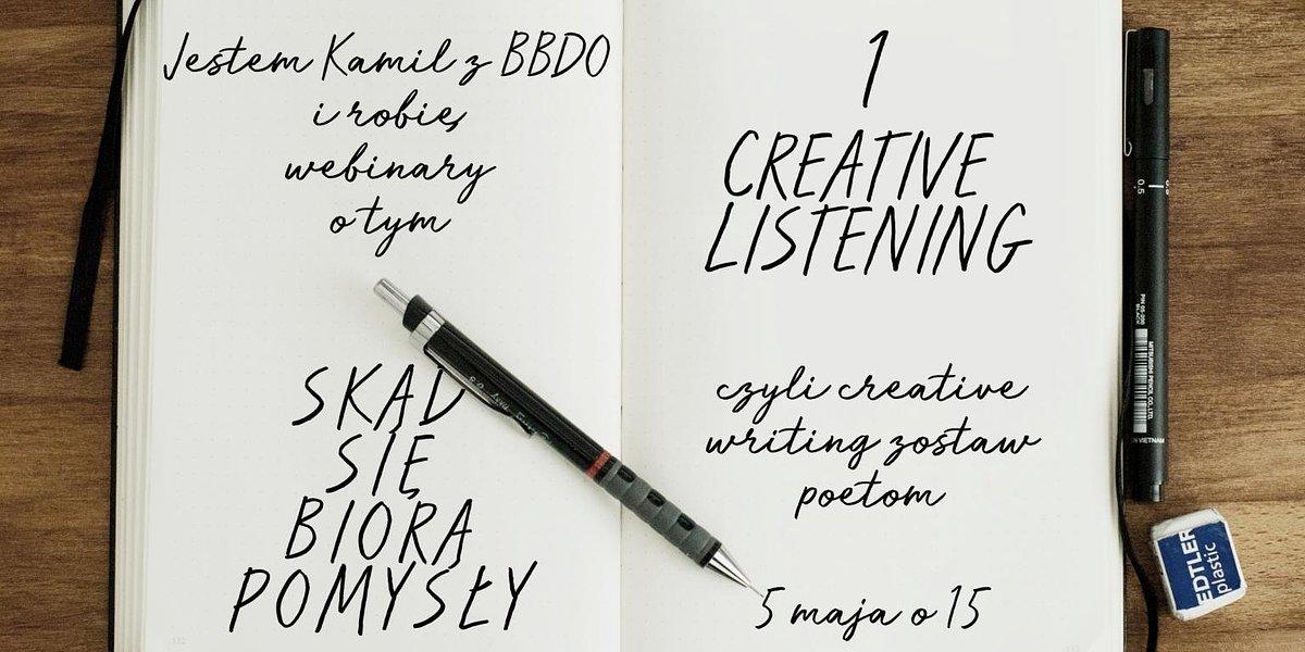 BBDO i Redestowicz o kreatywności. Rusza cykl webinarów: Skąd się biorą pomysły.