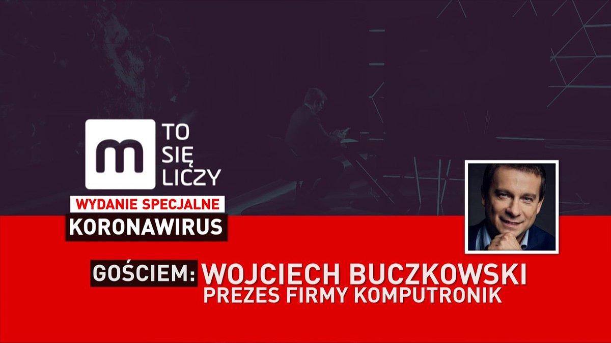 """Wojciech Buczkowski gościem programu Money.pl """"To się liczy"""""""
