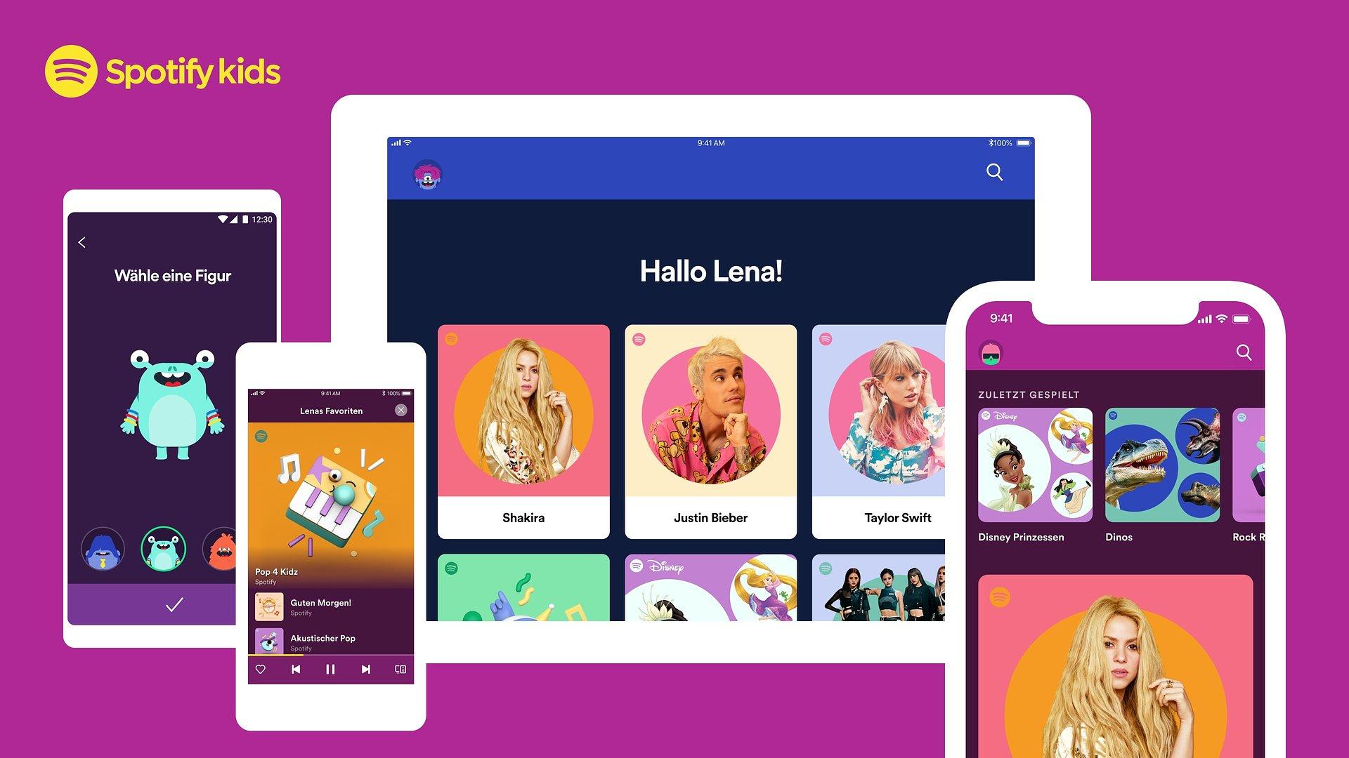 Audio-Spielplatz für Familien: Spotify Kids App startet in Deutschland