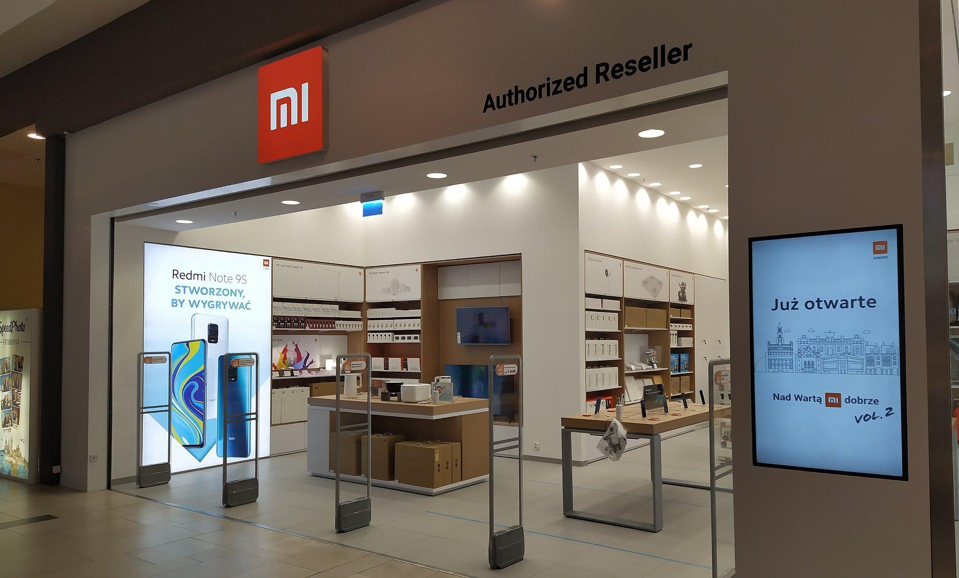 Avenida Poznań z salonem Xiaomi Mi Store