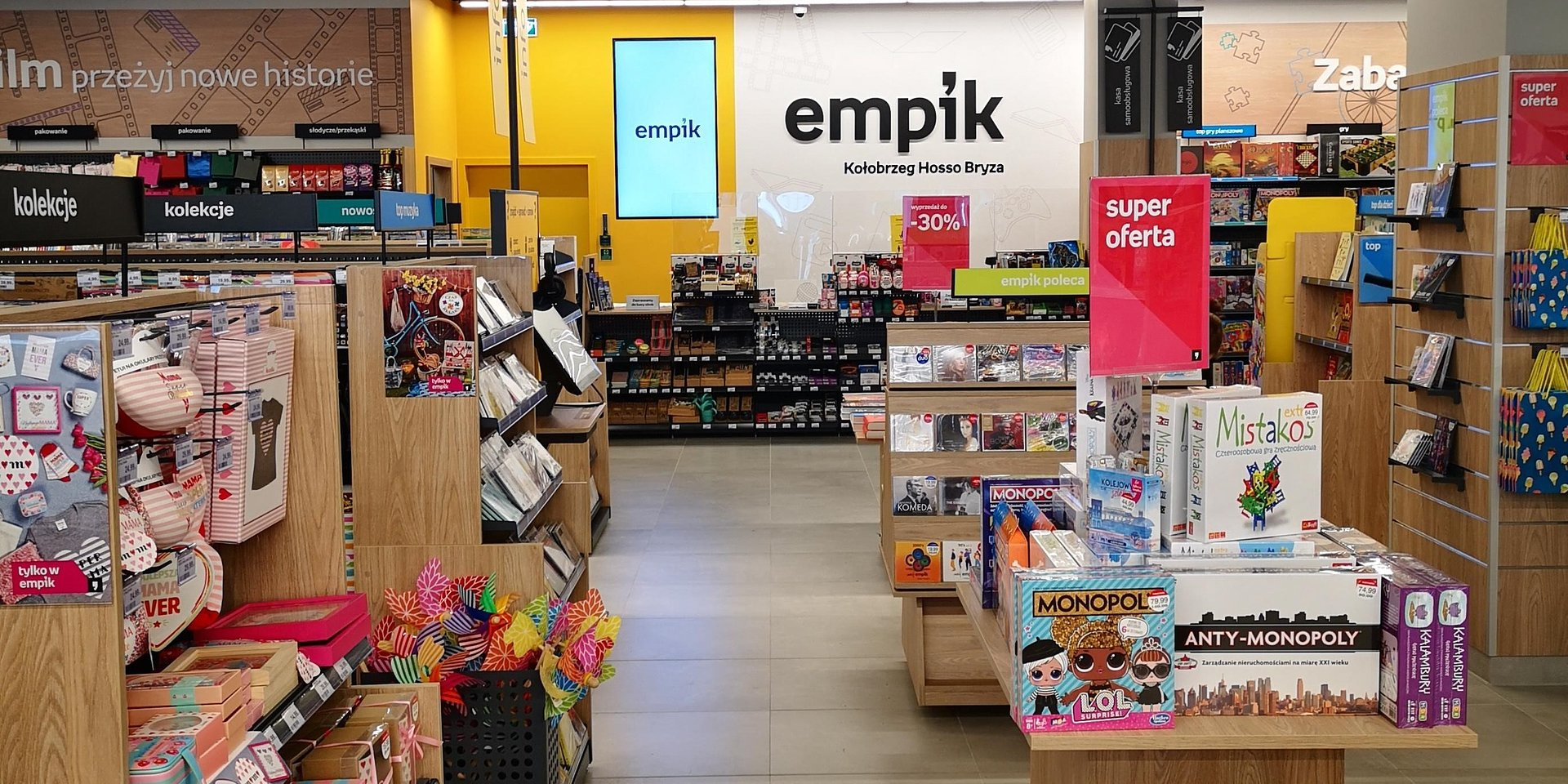 Trzy nowe salony Empik otwarte w maju